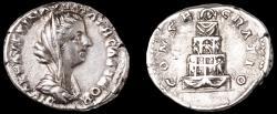 Ancient Coins - Faustina II Ar. denarius – very rare