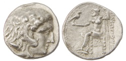 Ancient Coins - Philip III Arrhidaeus, 323-317 B.C., Ar Tetradrachm