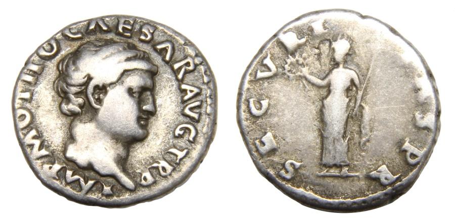Ancient Coins - Otho Ar. denarius