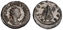 Quietus billon antoninianus (AD 260 – 261)