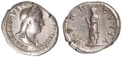 Ancient Coins - Sabina Ar. denarius
