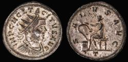 Ancient Coins - Tacitus billon antoninianus (275 - 276 AD)