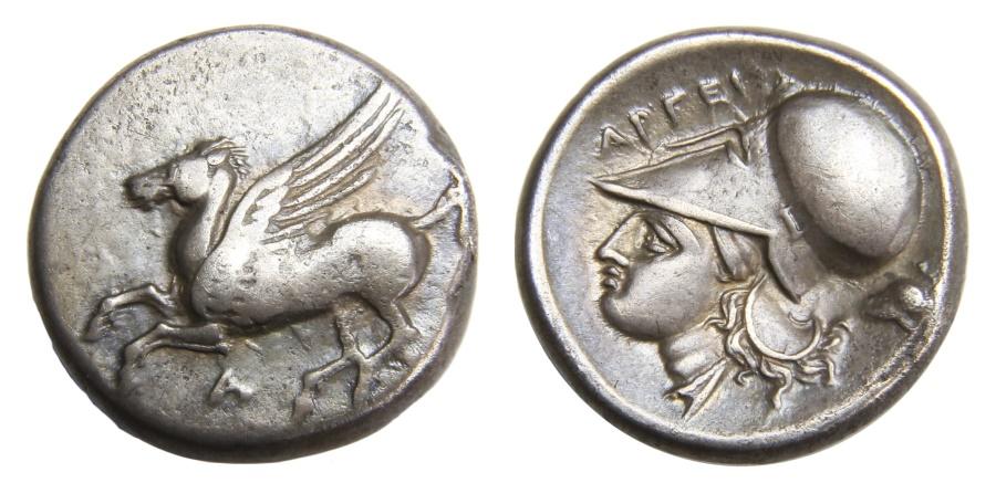 Ancient Coins - Akarnania, Argos Amphilochikon Ar. stater