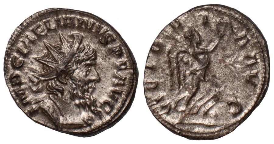 Ancient Coins - Laelianus silvered antoninianus – rare