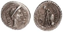 Julius Caesar Ar. denarius