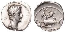 Augustus Ar. denarius