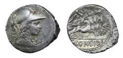 Ancient Coins - C. Considius Paetus Ar. denarius