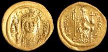 Ancient Coins - Justin II Au. solidus