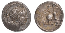 Cn. Lentulus Ar. denarius