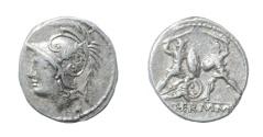 Ancient Coins - Marcus Minucius Thermus - Ar. denarius