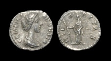 Ancient Coins - Crispina - Hilaritas Denarius