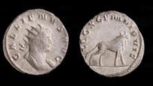 Ancient Coins - Gallienus Ar. antoninianus (AD 260-1)