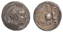 Ancient Coins - Cn. Lentulus Ar. denarius