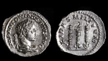Ancient Coins - Elagabalus Ar. denarius