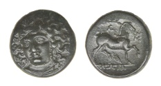 Ancient Coins - Thessally, Larissa Ae. 20