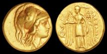 Alexander the Great Au. stater (336 – 323 BC)