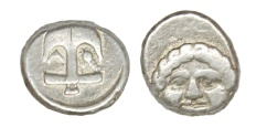 Ancient Coins - Apollonia Pontica Ar. hemidrachm