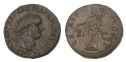 Ancient Coins - Titus Ae. dupondius