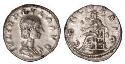 Ancient Coins - Julia Paula Ar. denarius