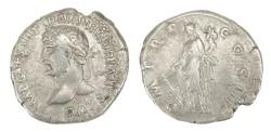 Ancient Coins - Hadrian Ar. denarius (AD 117-138)