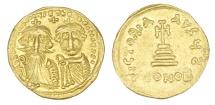 Ancient Coins - Heraclius & Heraclius Constantine - Av. Solidus