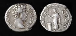 Ancient Coins - Aelius Ar. denarius