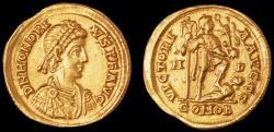 Ancient Coins - Honorius Au. solidus (402 - 403 AD)