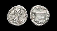 Ancient Coins - Crispina - Altar Denarius