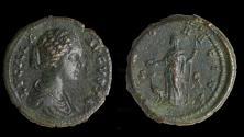 Ancient Coins - Lucilla Augusta Ae as (AD 164)
