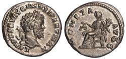 Ancient Coins - Septimius Severus Ar. denarius (AD 198 -202)