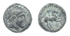 Ancient Coins - Philip II, Macedonia, Ae. 17 (359-336 BC)
