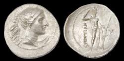 Ancient Coins - Bruttium, Brettii, Ar. drachm