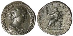 Ancient Coins - Lucilla Ae. sestertius (166 AD)