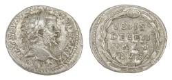 Ancient Coins - Septimius Severus Ar. denarius (AD 198-202)