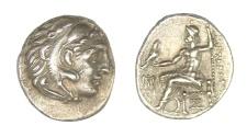 Ancient Coins - Alexander the Great Ar. drachm (336-323 BC)