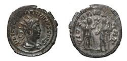 Ancient Coins - Valerian II, Billon Antoninianus