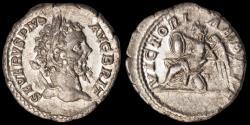 Ancient Coins - Septimius Severus Ar. denarius (210-211 AD)