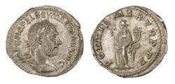 Ancient Coins - Rome, Macrinus, AD 217-218, Ar Denarius
