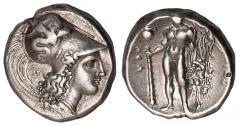 Ancient Coins - Lucania, Herakleia Ar. nomos