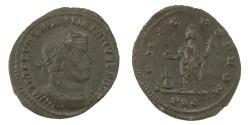 Ancient Coins - Maximianus Ae. follis (AD 307-309)