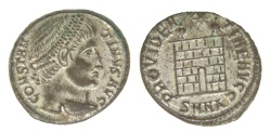 Ancient Coins - Constantine I Ae. 3 (silvered)