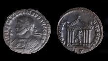 Ancient Coins - Maxentius Ae follis (AD 308-309)