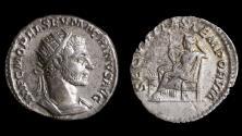 Ancient Coins - Macrinus (217-218), Ar. antoninianus