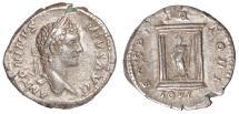 Ancient Coins - Caracalla Ar. denarius – rare (AD 201 -210)