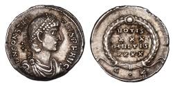 Ancient Coins - Constantius  II Ar. siliqua