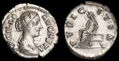 Ancient Coins - Lucilla Ar. denarius