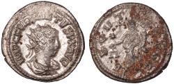 Ancient Coins - Quietus billon antoninianus (260-261 AD)