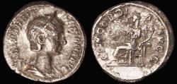 Ancient Coins - Orbiana Ar. denarius (wife of Severus Alexander)