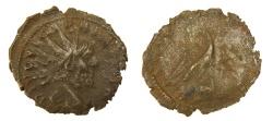 Ancient Coins - Divus Victorinus - Struck by Tetricus I - Antoninianus