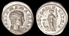 Ancient Coins - Julia Mamaea Ar. denarius